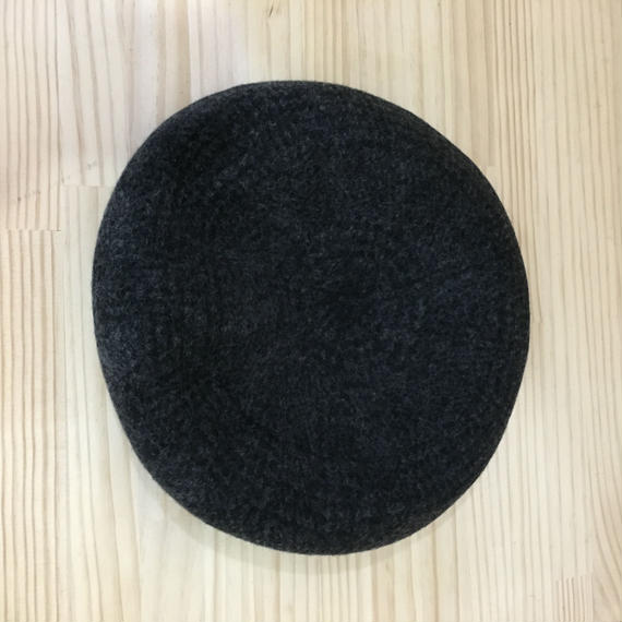 Nine Tailor / N 285 / Alnwick Beret (BLACK/GRAY)