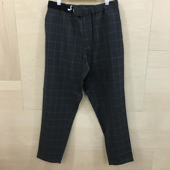 Graphpaper  / GM191 40047 / Reda Icesence Cook Pants (CHARCOAL)