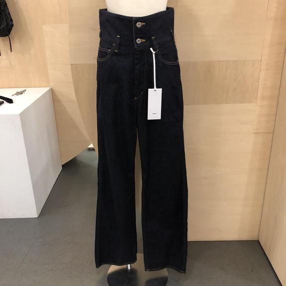 Graphpaper / GU181 40107B / Turnover Waisted Denim Pants (ONE WASH)