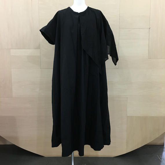 COSMIC WONDER / 08CW17167 1 / ボックスタックギャザードレス (BLACK)