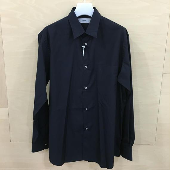 Graphpaper  / GM183 50069B / Regular Collar Shirt (NAVY)