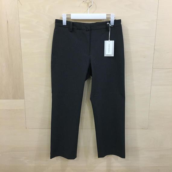 YAECA / 08655 2 WAY PANTS パイプドステム (C.GRAY)