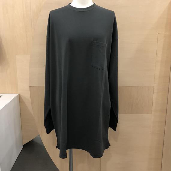 Graphpaper / 80/-Hi-Twisted L/S Long Pullover / GU181-70070