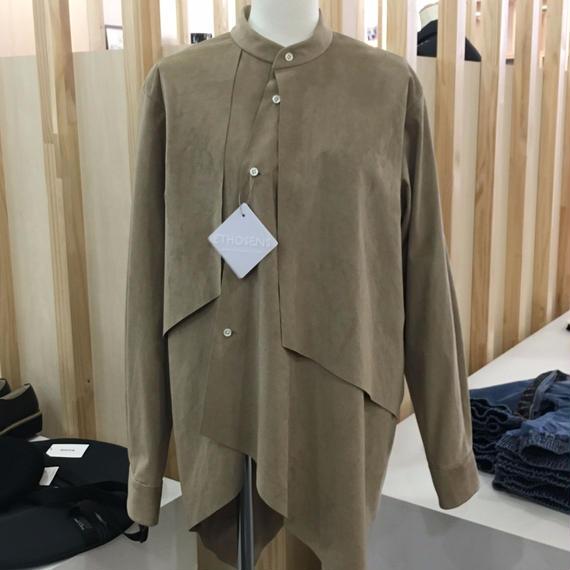 ETHOSENS / アシンメトリーシャツ / E217-210