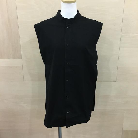 COSMIC WONDER / 08CW04007 / ノーカラーシャツパーツ (BLACK)