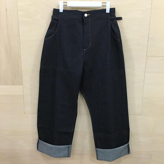 AQUVI / CONTROL STRAIGHT PANTS (DENIM)