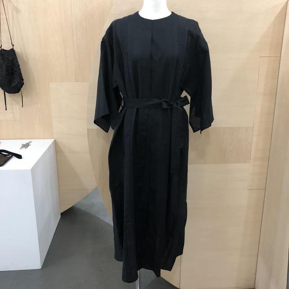 COSMIC WONDER / 07CW17144 / うみ羽衣のリネンドレス (BLACK)