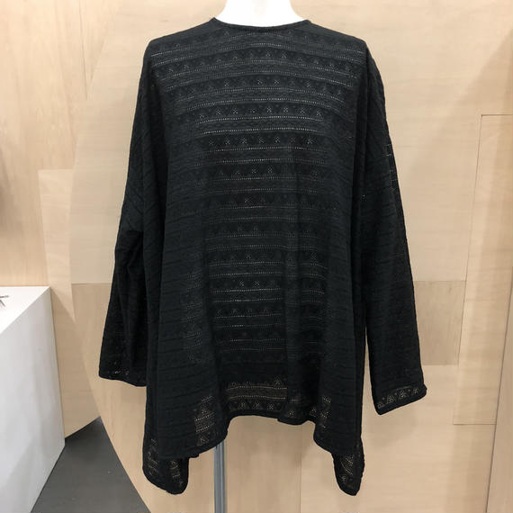 Graphpaper / Triangle Lace Pullover / GL181-50071