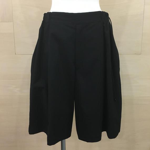 my beautiful landlet / WM05 PT181054 / SHORT PANTS (BLACK)