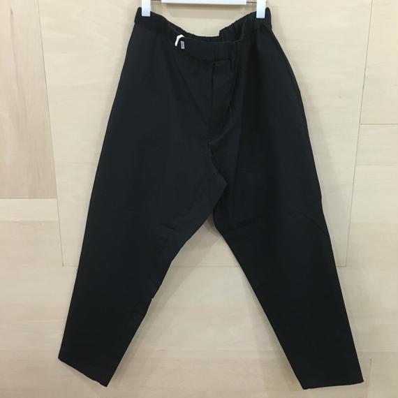 Graphpaper  / GM182 40082 / Typewriter Cook Pants (BLACK)