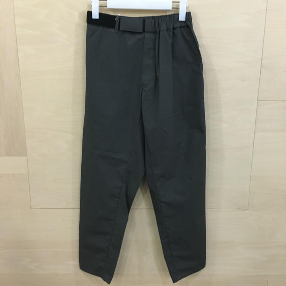 Graphpaper / GL191 40087B / Typewriter Cook Pants (GRAY)