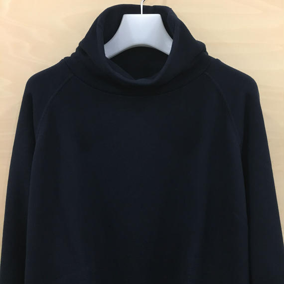 Graphpaper  / GL183 70127B / LOOPWHEELER for Graphpaper High Neck Sweat (NAVY)