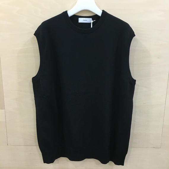 Graphpaper / GU191 80065 / Suvin Vest (BLACK)