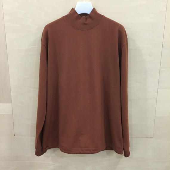 COLTESSE / OVER SISE TEE (RED BROWN)