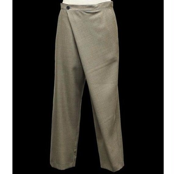 VOAAOV / WOOL WRAP PANTS / VOP-011