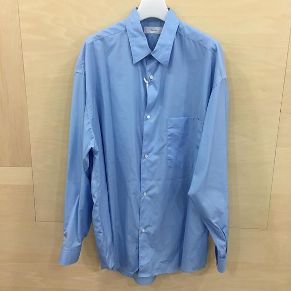 Graphpaper  / GM183 50067B / Oversized Shirt (SAX)