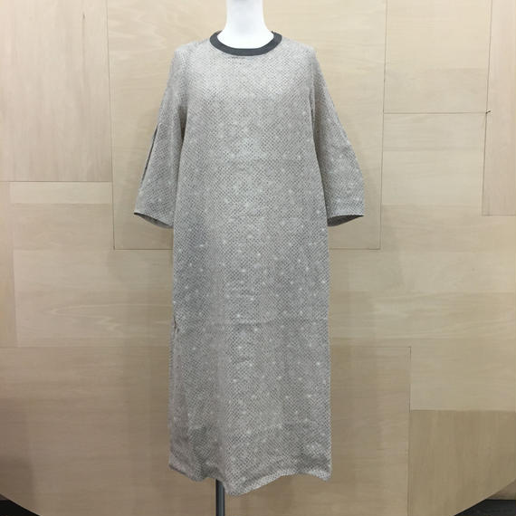COSMIC WONDER / 07CW17160 / うみ羽衣リネンワンピース (NATURAL)