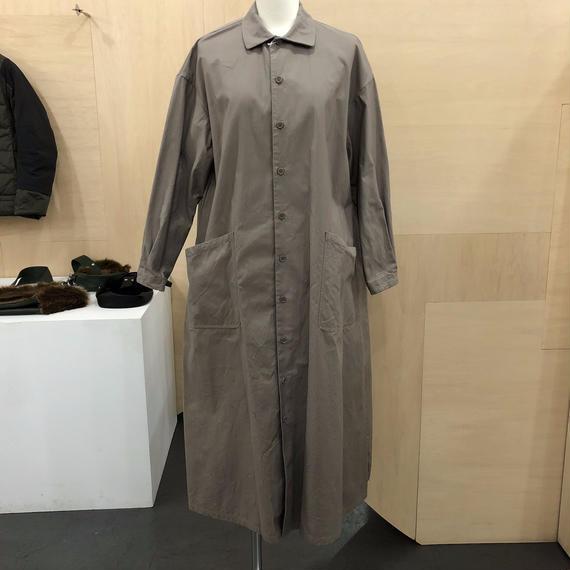 YAECA / 97155 ワークシャツドレス (KHAKI)