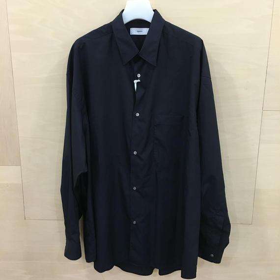 Graphpaper  / GM183 50067B / Oversized Shirt (NAVY)