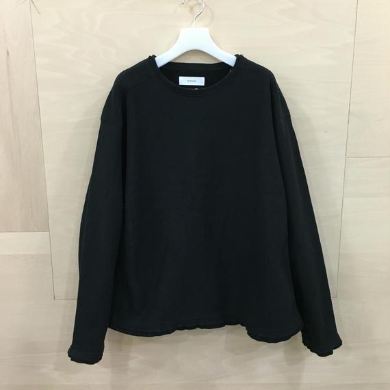 FACETASM / MRC SW U04 / LAYERED XXL SWEAT SHIRT (BLACK)