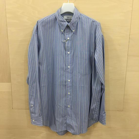 Graphpaper  / GM183 50079B / Thomas Mason L/S B.D Shirt (SAX ST)