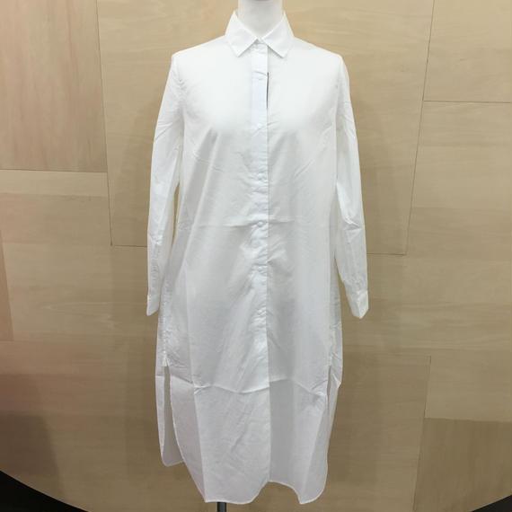 YAECA / 68121 / コンフォートシャツドレス (WHITE)