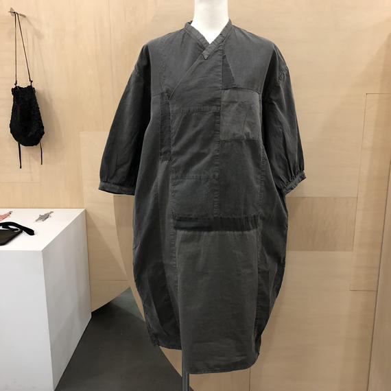 COSMIC WONDER / 07CW1715 / 有機栽培綿のポジャギフォークシャツ (SUMIKURO)