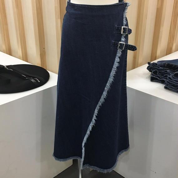 WHEIR / WH RO37 / デニムラップスカート