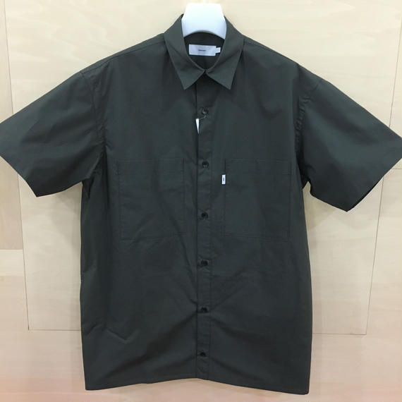 Graphpaper / GU182 50080 / Typewriter S/S Box Shirt (GRAY)
