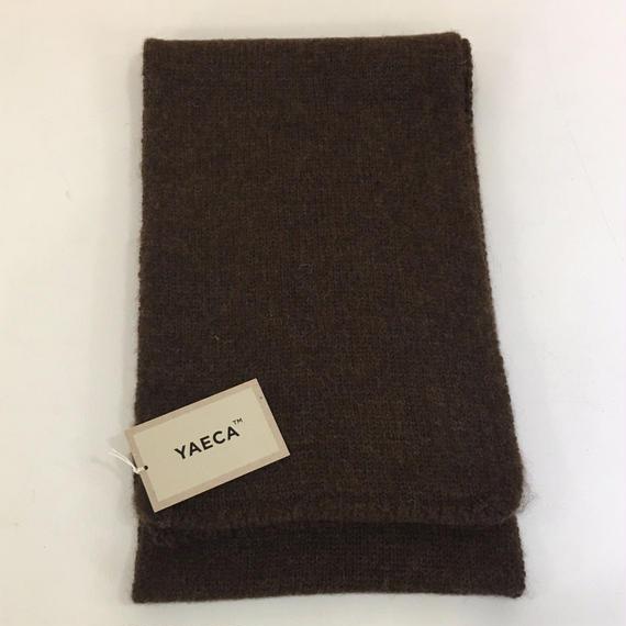 YAECA / 47954 / マフラー (D.BROWN)