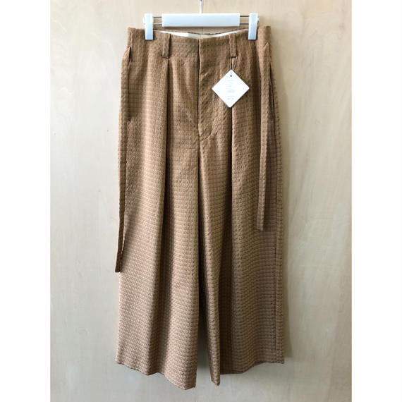 ETHOSENS / E118 705 / PANTS (BROWN)