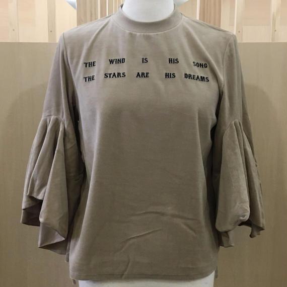 FACETASM / ベロアTシャツ / CHG TEE W08