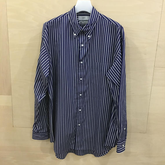 Graphpaper / GM191 50033B / THOMAS MASON L/S B.D Box Shirt (NAVY ST)