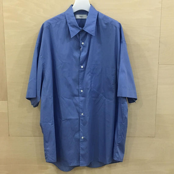 Graphpaper / GM191 50031 / Broad Oversized S/S Shirt (BLUE)