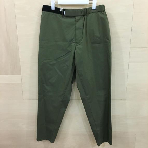 Graphpaper  / GM182 40511B / Typewriter Stretch Cook Pants (KHAKI)