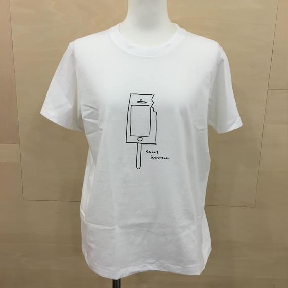 YAECA / 88008 / プリントTシャツ (ICE CREAM)