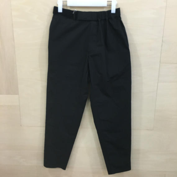 Graphpaper / GL191 40087B / Typewriter Cook Pants (BLACK)