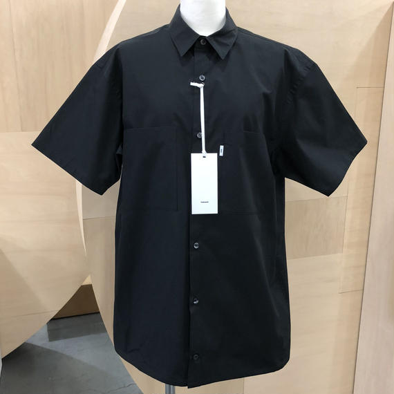 Graphpaper  / Typewriter S/S Box Shirt / GM181-50080B