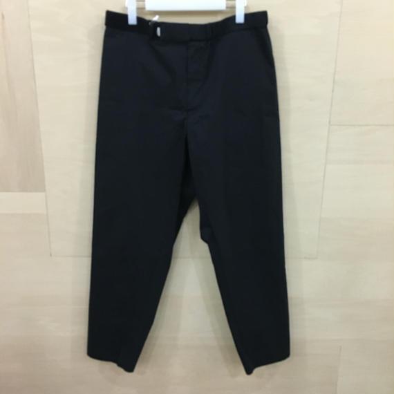 Graphpaper  / GM182 40511B / Typewriter Stretch Cook Pants (BLACK)