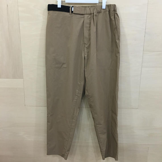 Graphpaper / GM191 40020B / Typewriter Cook Pants (BEIGE)