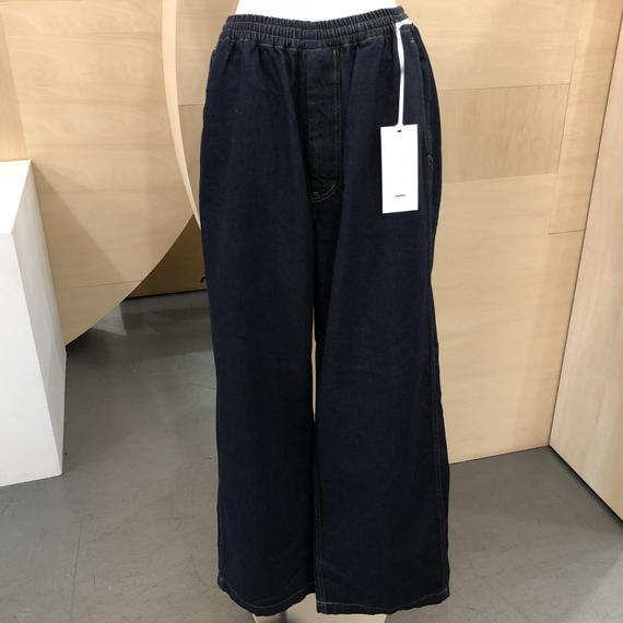 Graphpaper / Denim Baggy Pant ID / GM181-40047B