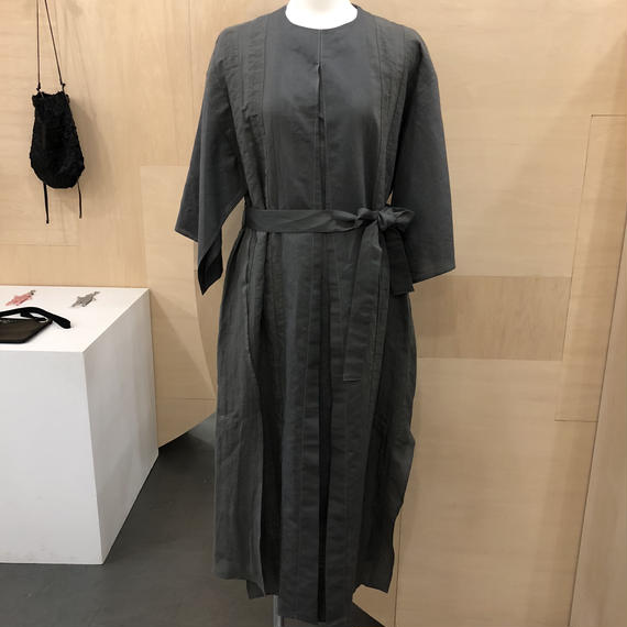 COSMIC WONDER / 07CW17144 / うみ羽衣のリネンドレス (GRAY)