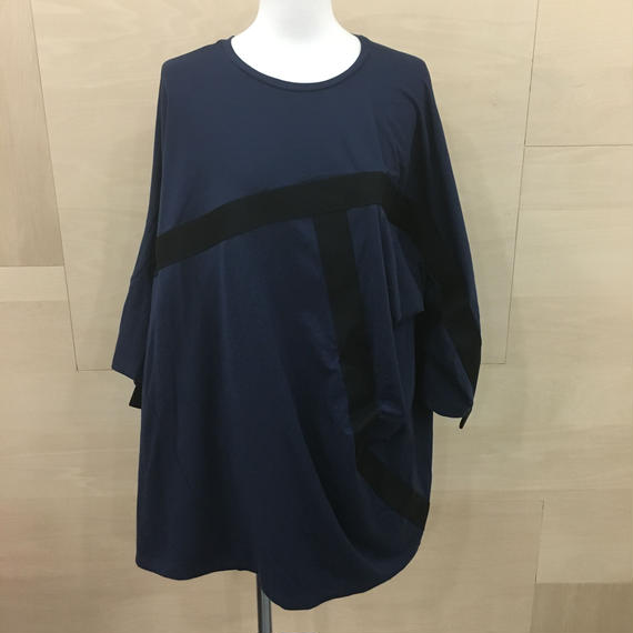 HOUSE OF THE VERY ISLAND'S / テープTシャツ (NAVY)