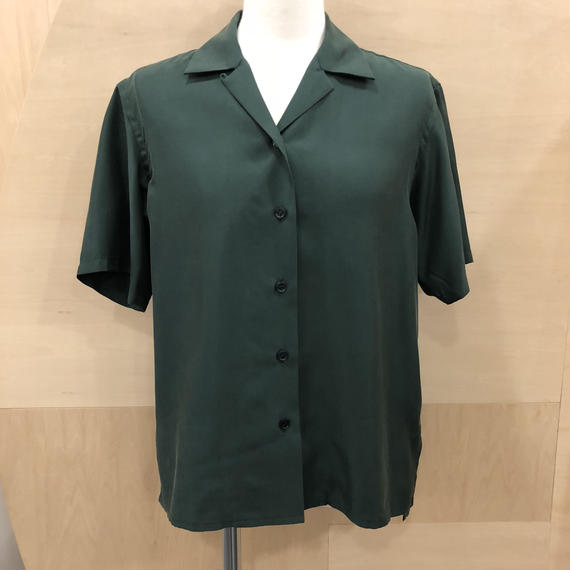 Graphpaper / Cupra Open-collar Shirt / GL181-50017