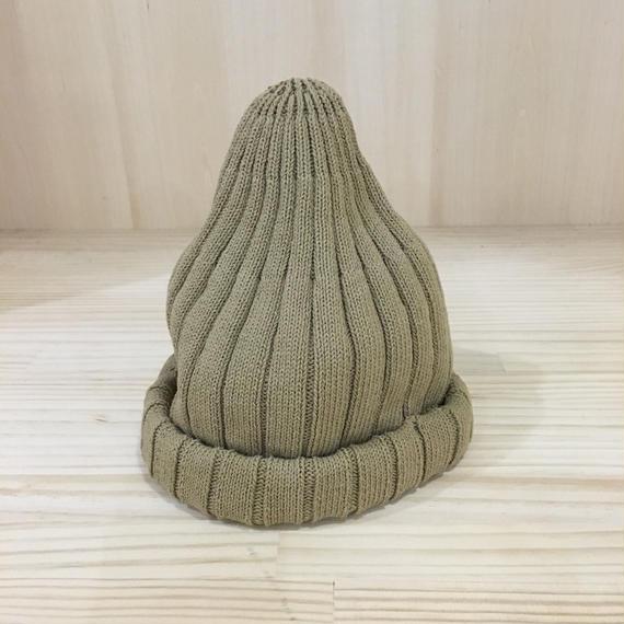 unfil / ONSP UU001 / Bibbed Knit Beanie (KHAKI)