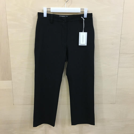 YAECA / 08655 2 WAY PANTS パイプドステム (BLACK)