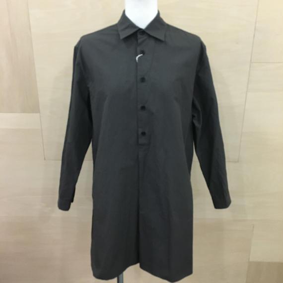 YAECA / 98103 / ボタンシャツ PO ロング (BLACK)