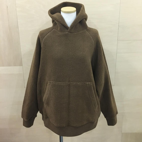 Graphpaper  / GL183 70100 / Wool Boa Parka (CAMEL BROWN)