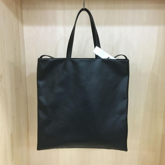 Aeta / LE33 / FLAT TOTE BAG (BLACK)