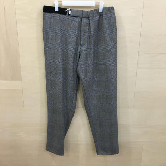 Graphpaper  / GL18 40507 / Glen Check Cook Pants (GLEN CHECK)